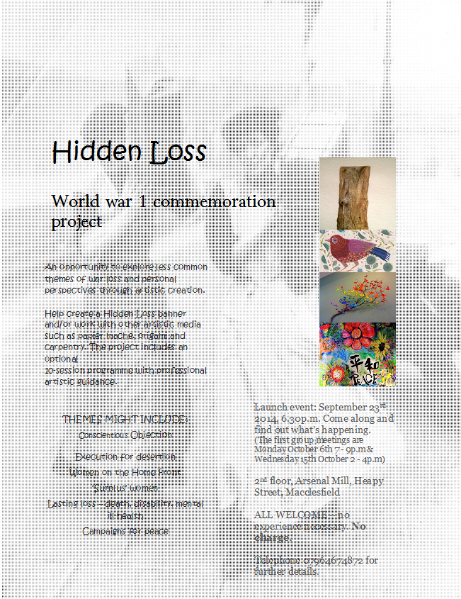 Hidden Loss – April Whole Group sessions.