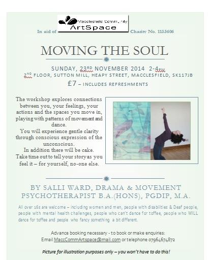 Moving the Soul – Dance Workshop