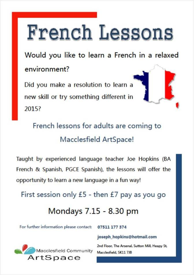 French Lessons @ ArtSpace