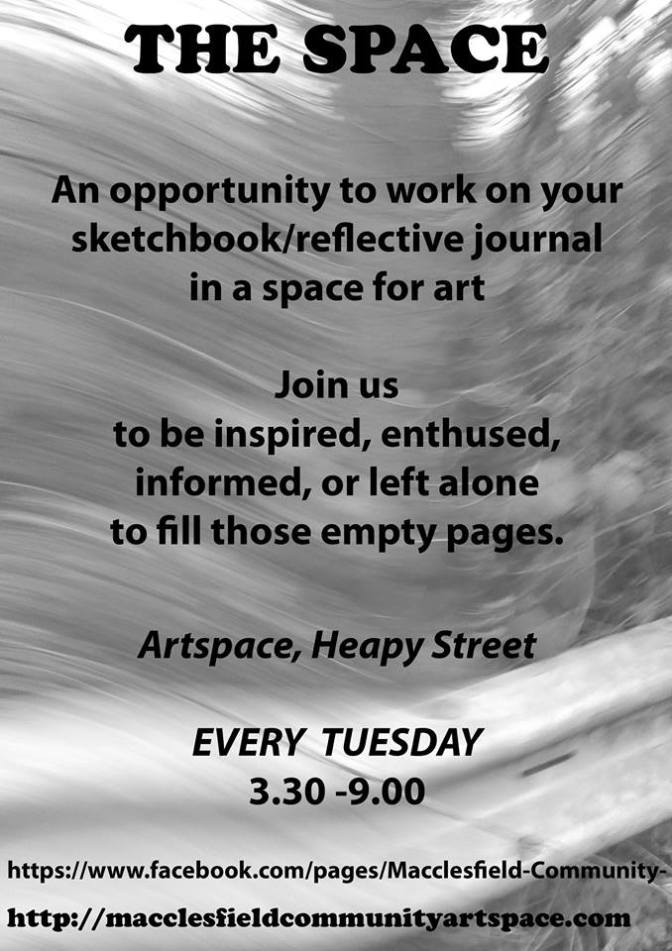 """""""The Space"""" at ArtSpace on March 24th"""