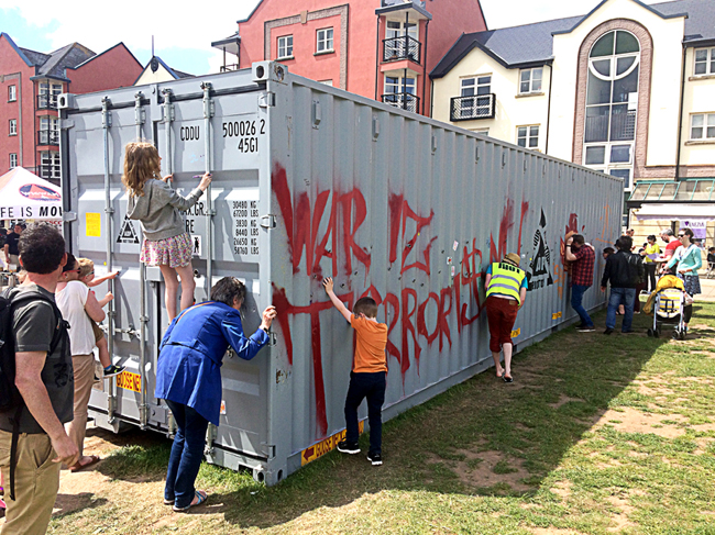 Help ArtSpace bring Jimmy Cauty's #ADPRiotTour to Macc