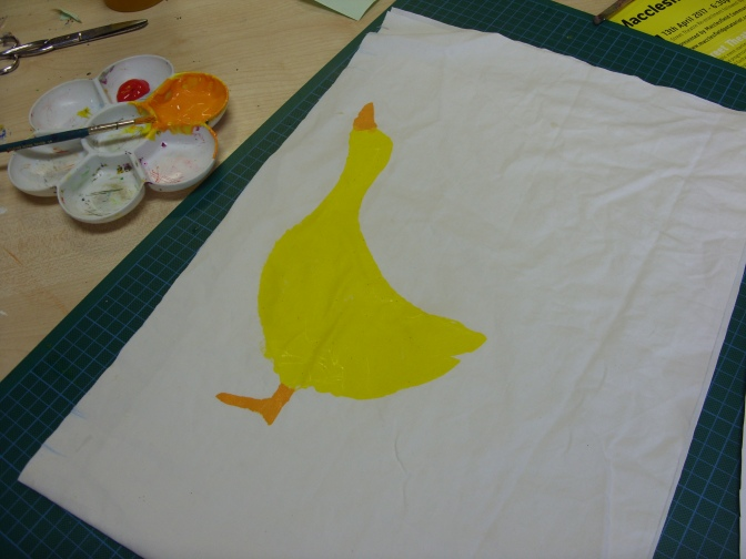 Hearty Arty Fabric Art – 30th March 2017
